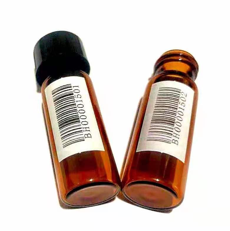 二维码条形码定制样品瓶 4ml